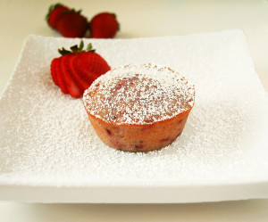 Strawberry Almond Cakes