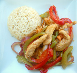 A;pricot Chicken Stir Fry | Culinary Cool