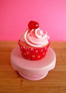 Cherry Chip Cupcake