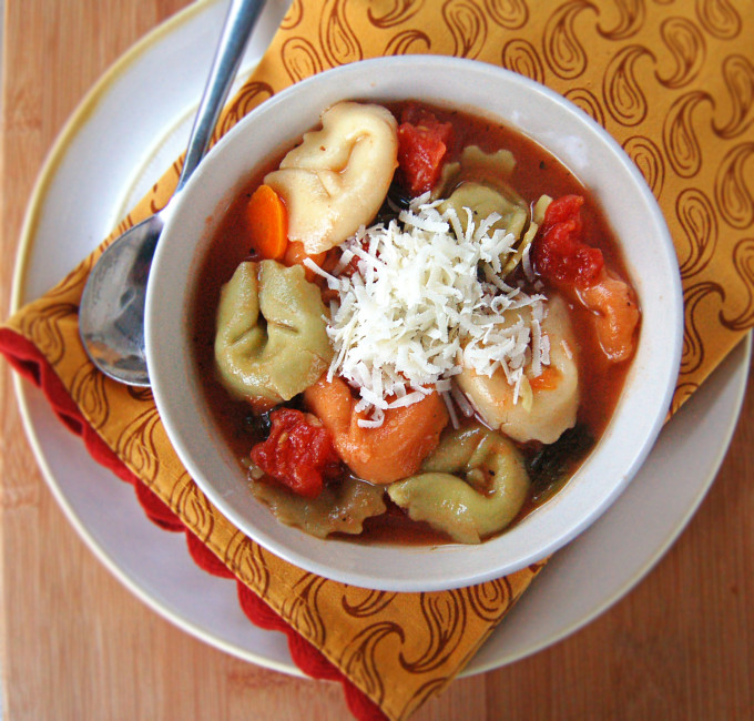 Tortellini Soup | Culinary Cool
