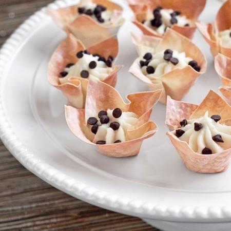 Cannoli Cups