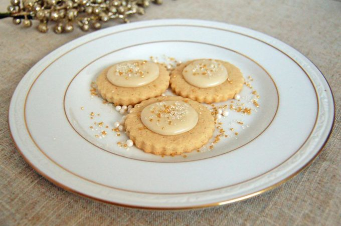 Eggnog Shortbread | Culinary Cool