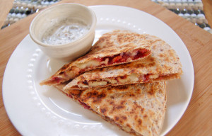 brie walnut quesadilla | Culinary Cool