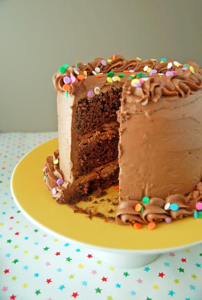 Chocolate Fudge Cake | Culinary Cool