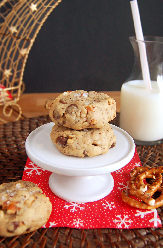 Chocolate Chunk Pretzel Cookies | Culinary Cool