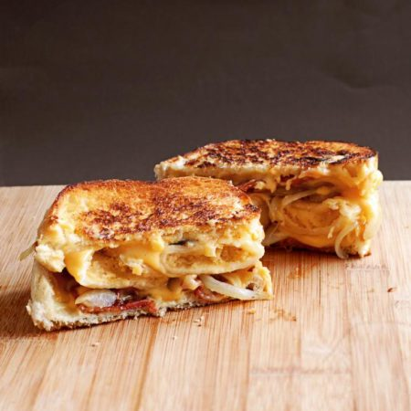 Perogie Grilled Cheese   Culinary Cool