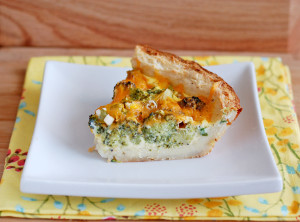 mashed potato broccoli quiche
