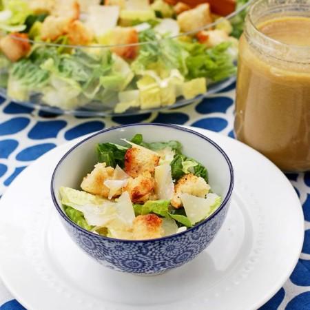 Healthy Homemade Casesar Salad Dressing | Culinary Cool
