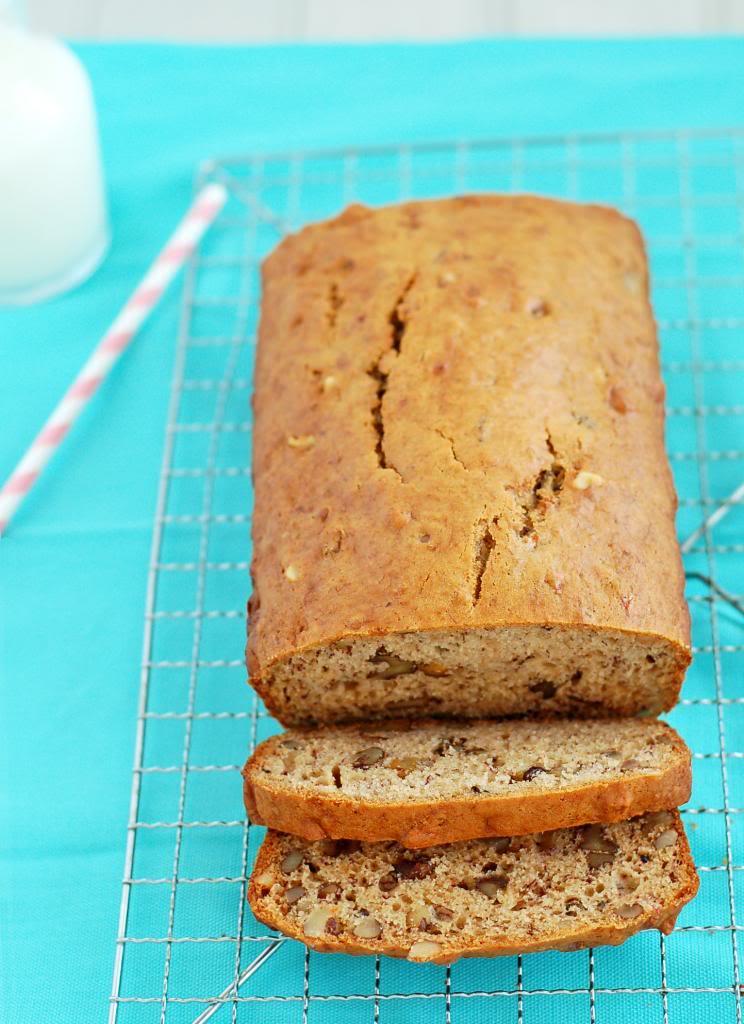 Banana Walnut Bread  | Culinary Cool