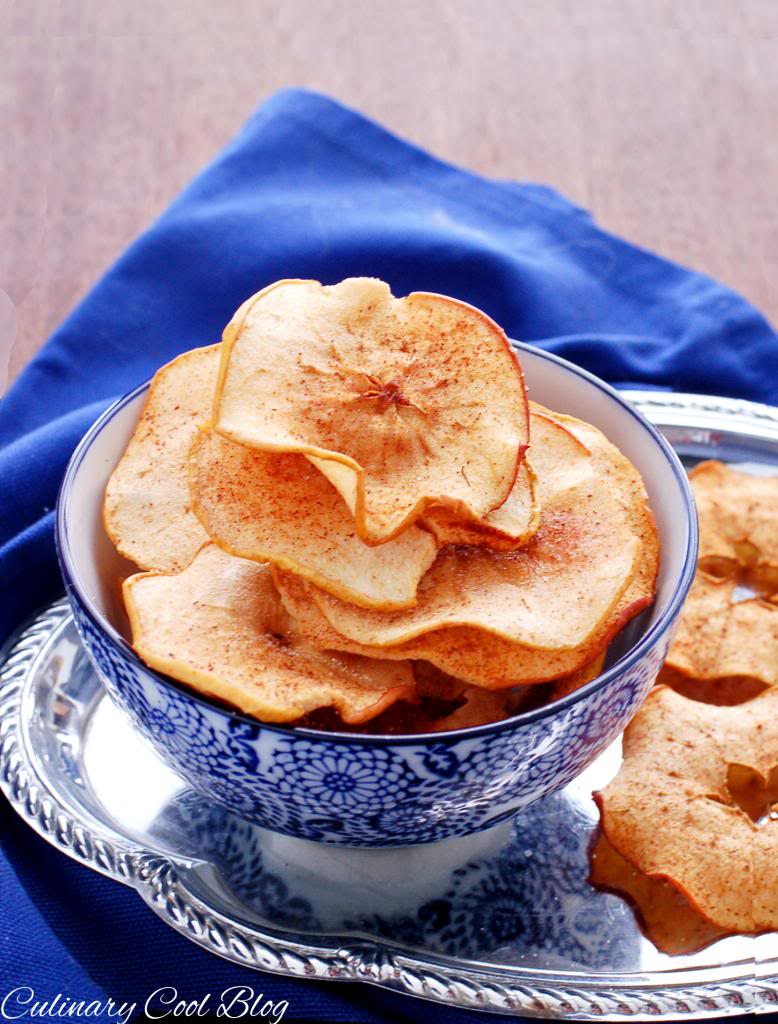 Baked Cinnamon Apple Chips | Culinary Cool