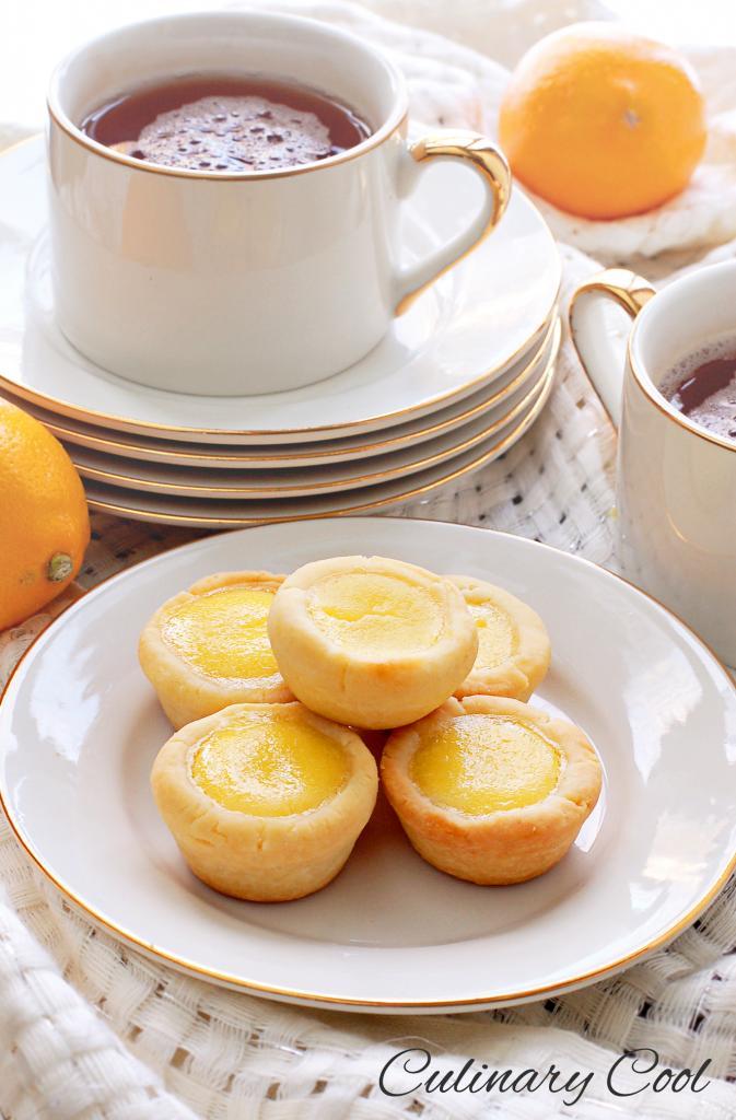 Meyer Lemon Tassies