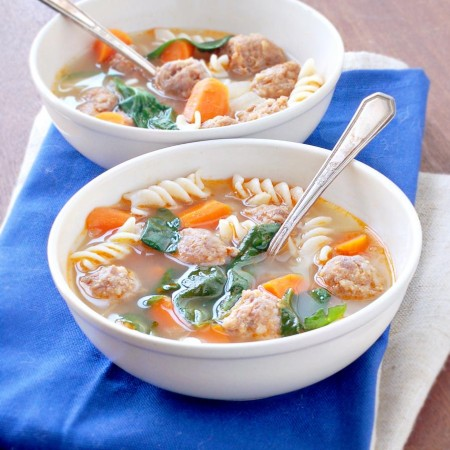 Spicy Italian Sausage Soup