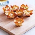 Cheesy Pork Wonton Cups | Culinary Cool