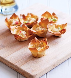 Cheesy Pork Wonton Cups | Culinary Cool