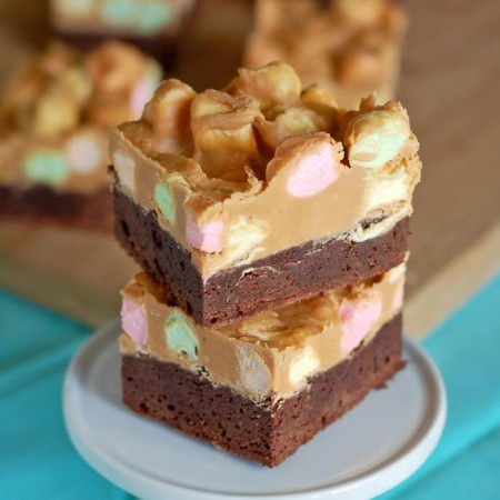 Peanut Butter Marshmallow Brownies | Culinary Cool