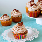 Maple Pecan French Toast Cupcakes via Culinary Cool