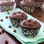Gluten Free Chocolate Chip Muffins via Culinary Cool