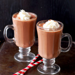 Butter Baby Hot Chocolate via Culinary Cool