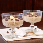 Peanut Butter Banana Chia Seed Pudding via Culinary Cool