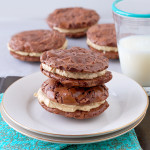 Brownie Cookies with Peanut Butter Frosting | Culinary Cool