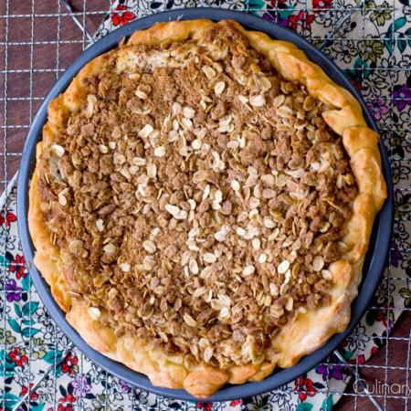 Cinnamon Bun Pie   Culinary Cool