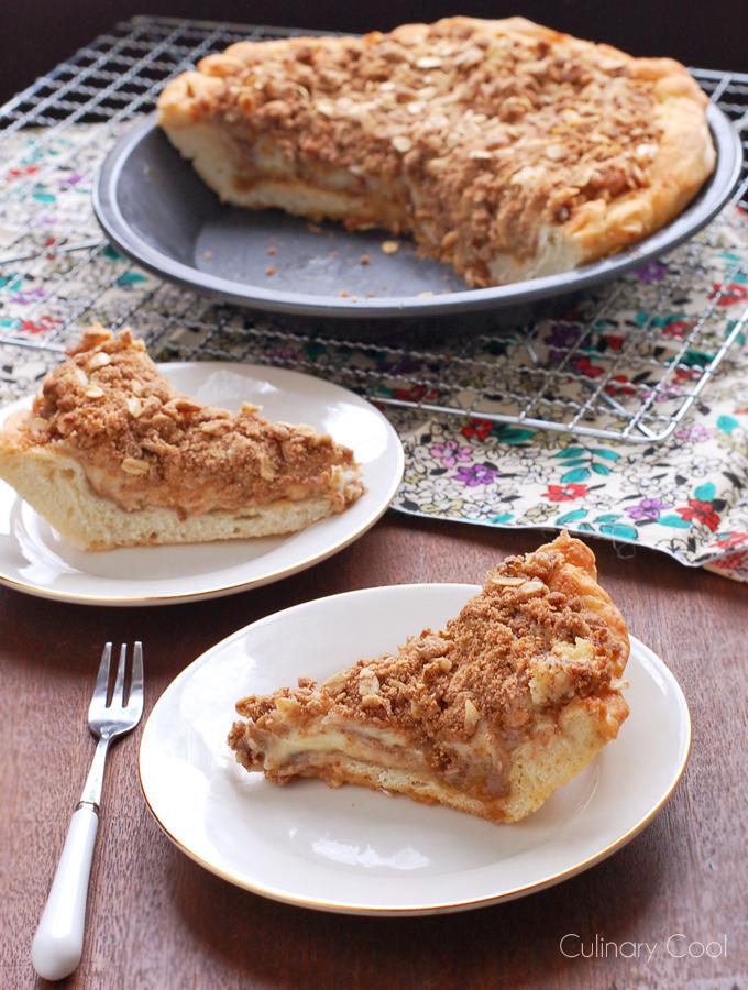 Cinnamon Bun Pie | Culinary Cool