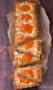 Apricot Almond Tart | Culinary Cool