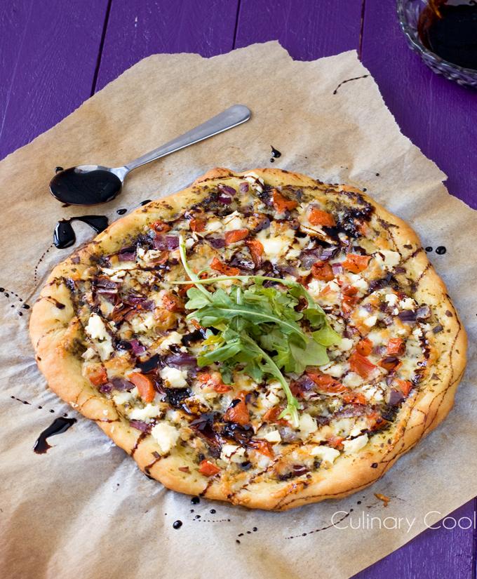 Bruschetta Pizza   Culinary Cool