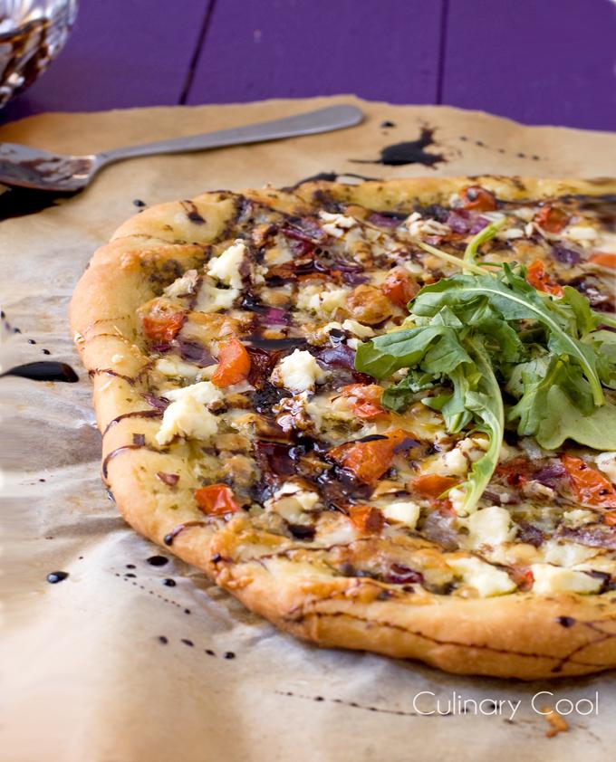 Bruschetta Pizza | Culinary Cool