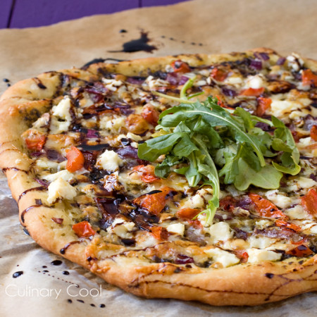 Bruschetta Pizza | Culinary Cool