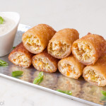 Chicken and Feta Spring Rolls   Culinary Cool