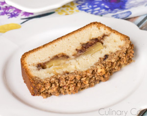 Cinnamon Crumb Surprise Cake
