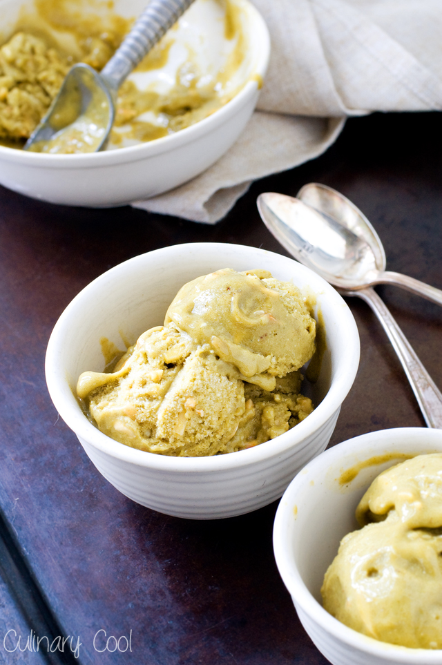 Matcha Green Tea Banana Ice Cream | Culinary Cool