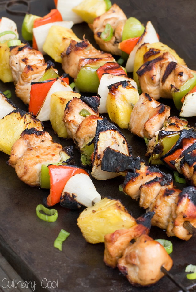 Chicken Kebabs with Spicy Rum Marinade | Culinary Cool