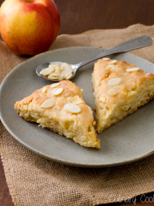 Amaretto Apple Scones | Culinary Cool
