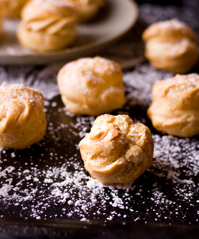 Pumpkin Pie Cream Puffs | Culinary Cool