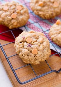 Bourbon Butterscotch Oatmeal Cookies | Culinary Cool