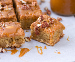 Chestnut Praline White Chocolate Brownies | Culinary Cool