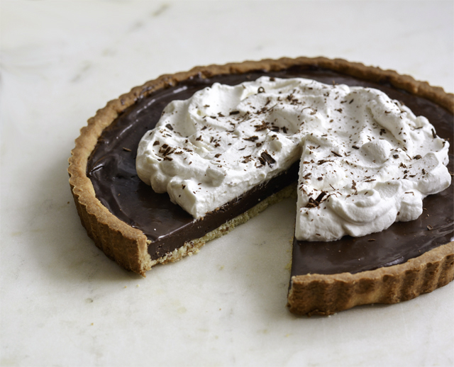 Mexican Chocolate Tart | Culinary Cool