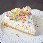 No-Bake Funfetti Cheesecake | Culinary Cool