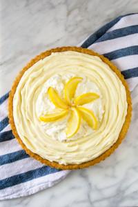 Lemon Mascarpone Tart