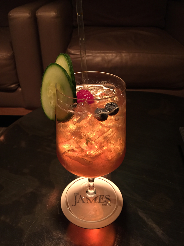 Pimm's Cup at The James Hotel | Culinary Cool