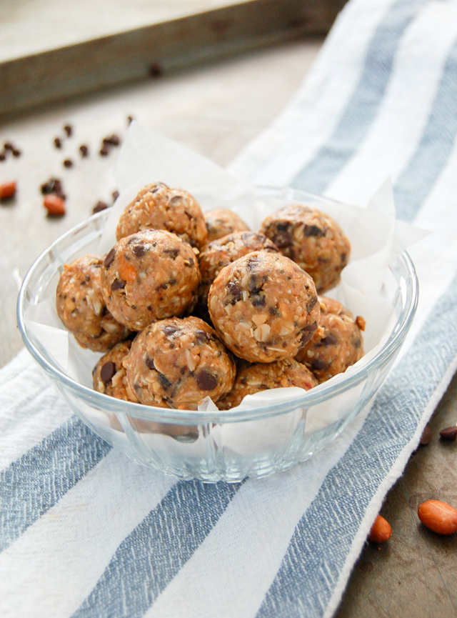 Peanut Butter Protein Balls | Culinary Cool
