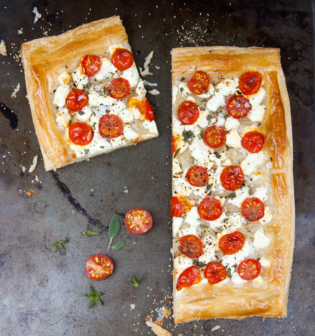 Tomato Goat Cheese Tart   Culinary Cool