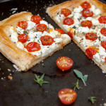 Tomato Goat Cheese Tart | Culinary Cool