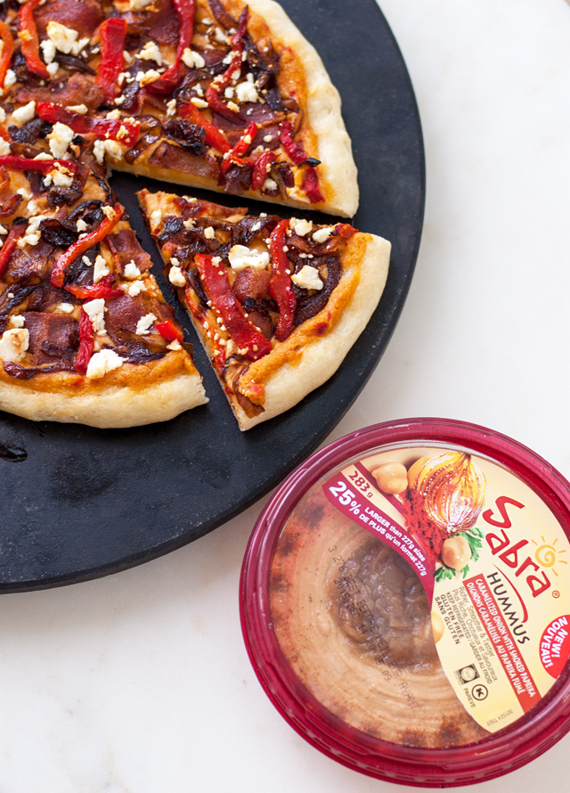 Hummus Pizza | Culinary Cool