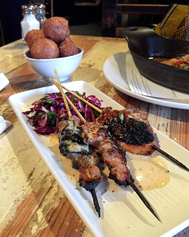 Chicken Skewers from Peche | Culinary Cool