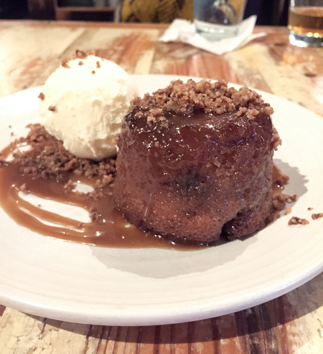Toffee Apple Cake at Peche | Culinary Cool