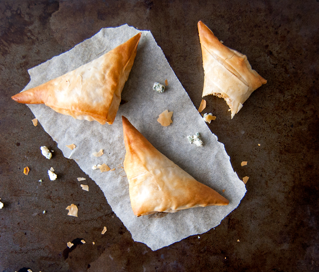 BBQ Chicken and Blue Cheese Hand Pies   Culinary Cool
