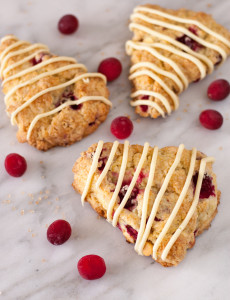 Cranberry White Chocolate Scones | Culinary Cool